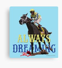 Always Dreaming: Kentucky Derby 2017 Canvas Print