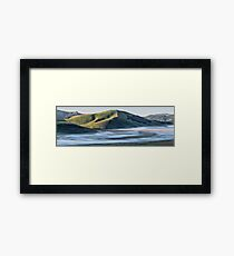 Castelluccio at dawn Framed Print