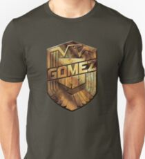 Custom Dredd Badge - Gomez T-Shirt
