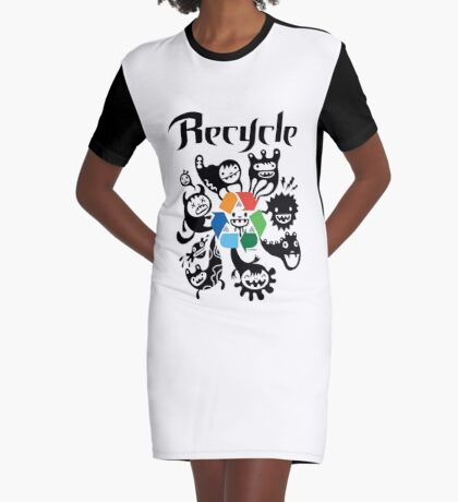 Recycle    Graphic T-Shirt Dress