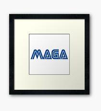 MAGA - Make America Game Again Framed Print