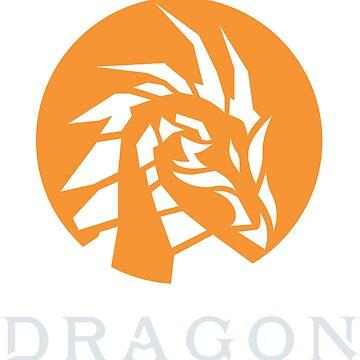 Dragon print shirt by albertosm