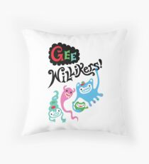 Gee Willikers  Throw Pillow