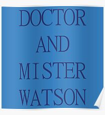 DOCTOR AND MISTER WATSON Poster