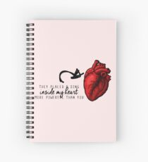 21. OUAT MUSICAL - A song inside our hearts Spiral Notebook