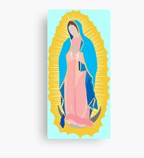 Virgen de Guadalupe / virgin / madona / our lady Canvas Print