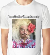 Lenin in the Streets (Dostoyevsky in the sheets) Katya  Graphic T-Shirt