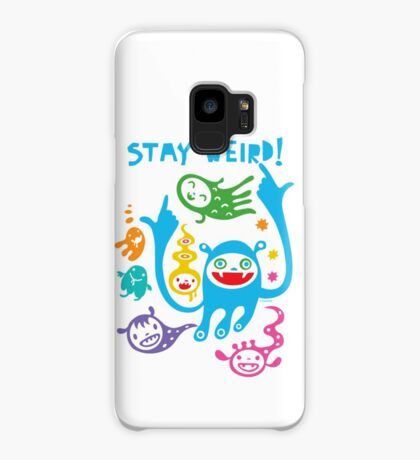 Stay Weird   Case/Skin for Samsung Galaxy