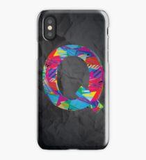 Fun Letter - Q iPhone Case/Skin