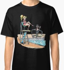 Squints and Lifeguard - Sandlot Classic T-Shirt