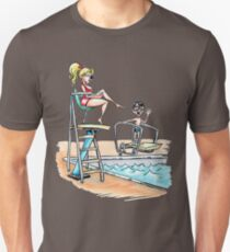 Squints and Lifeguard - Sandlot Unisex T-Shirt