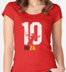 Hazard 10 Women's Fitted Scoop T-Shirt