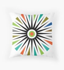 Starburst     t shirt  Throw Pillow