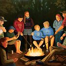 The Campfire by Karen Amato