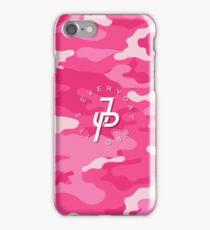 Jake Paul Pink military camo iPhone Case/Skin