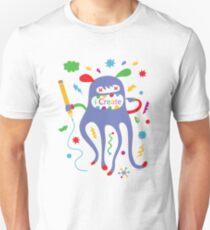 i create    Unisex T-Shirt