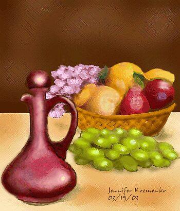 Digifruit by jennifer kozmenko