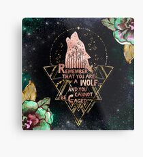 ACOWAR - Wolf Metallbild