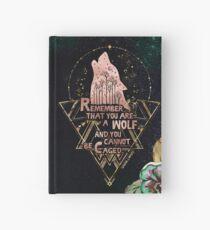Cuaderno de tapa dura ACOWAR - Lobo