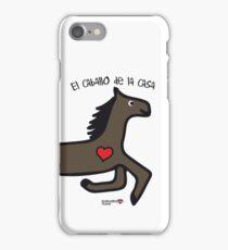 El caballo de la casa iPhone Case/Skin