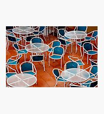 Chairs! Photographic Print