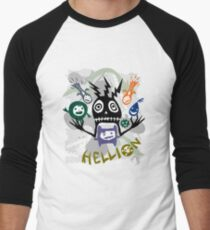 Hellion  Men's Baseball ¾ T-Shirt