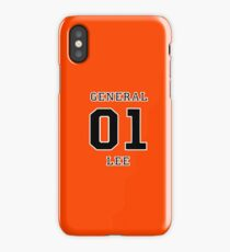 01 General Lee - The Dukes of Hazzard iPhone Case/Skin