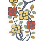 Art Deco Rose Bush by iamsla
