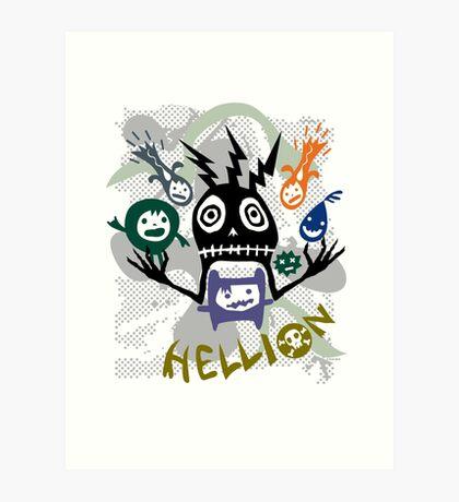 Hellion  Art Print