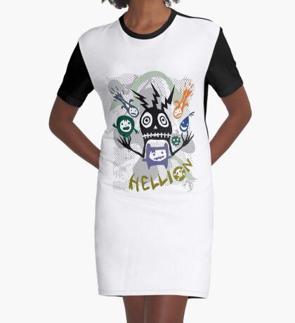 Hellion  Graphic T-Shirt Dress