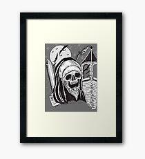 GOTHIC HORROR Framed Print
