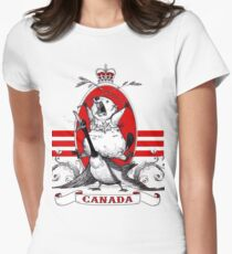 Canadian Pride! Womens Fitted T-Shirt
