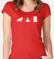 Lion + Witch + Wardrobe Women's Fitted Scoop T-Shirt
