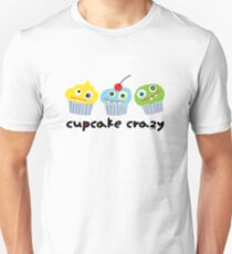 Cupcake Crazy  Unisex T-Shirt