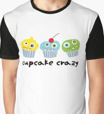 Cupcake Crazy  Graphic T-Shirt