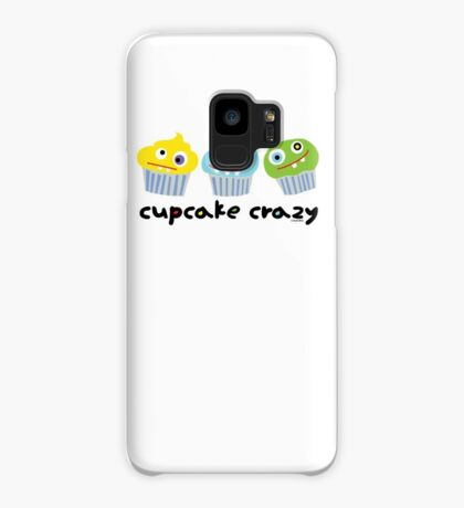 Cupcake Crazy  Case/Skin for Samsung Galaxy