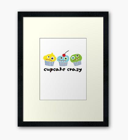Cupcake Crazy  Framed Print