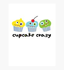 Cupcake Crazy  Photographic Print