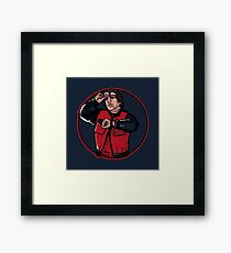 Back to the Astronaut Framed Print