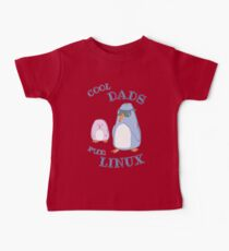 Cool Dads Run Linux Kids Clothes