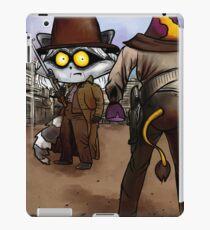 Raccoon Madness Game -  Back to the future theme iPad Case/Skin