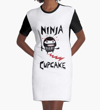 Ninja Cupcake   Graphic T-Shirt Dress