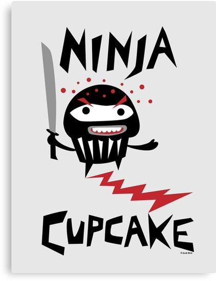 Ninja Cupcake   by Andi Bird