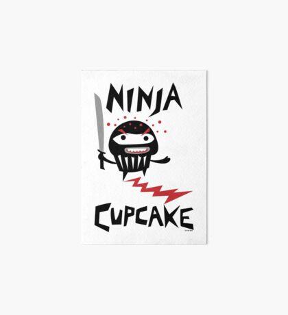 Ninja Cupcake   Art Board