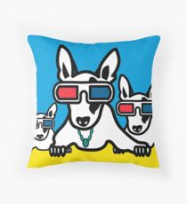 dogs Throw Pillow