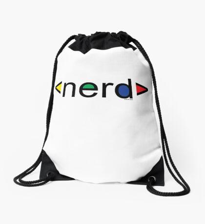 Nerd  Drawstring Bag