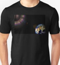 Earth Globe Space Unisex T-Shirt