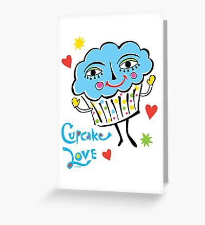 Cupcake Love Greeting Card