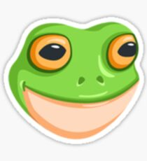 Frog Emoji Stickers Redbubble