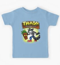 Trash Pandacoot Kids Tee